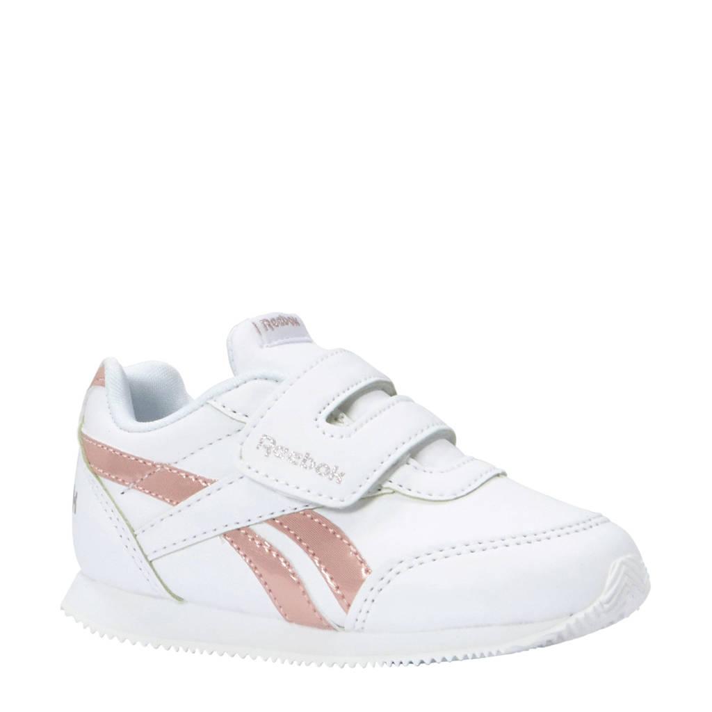 Reebok   Royal CLJOG 2 sneakers wit/roze, Wit/roze