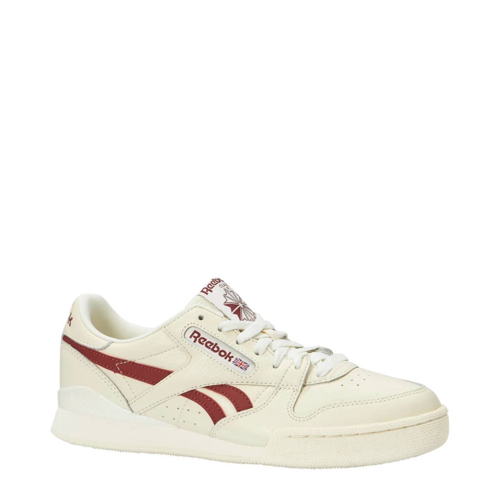 Reebok  Phase 1 Pro MU sneakers, Wit/rood