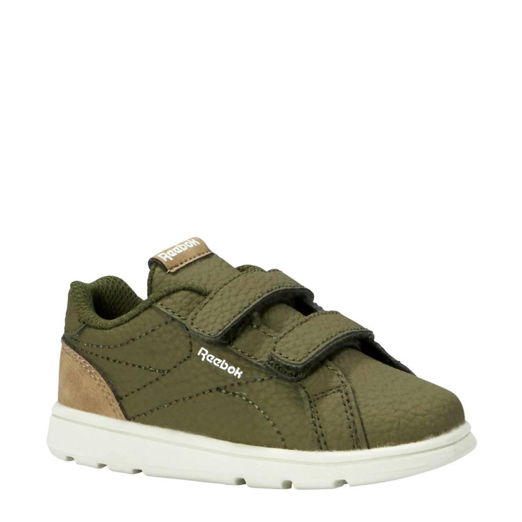 Reebok  Royal Comp C sneakers groen, Mosgroen/camel