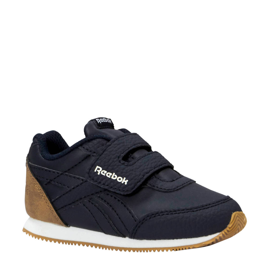 Reebok   Royal CLJog sneakers donkerblauw, Donkerblauw/camel