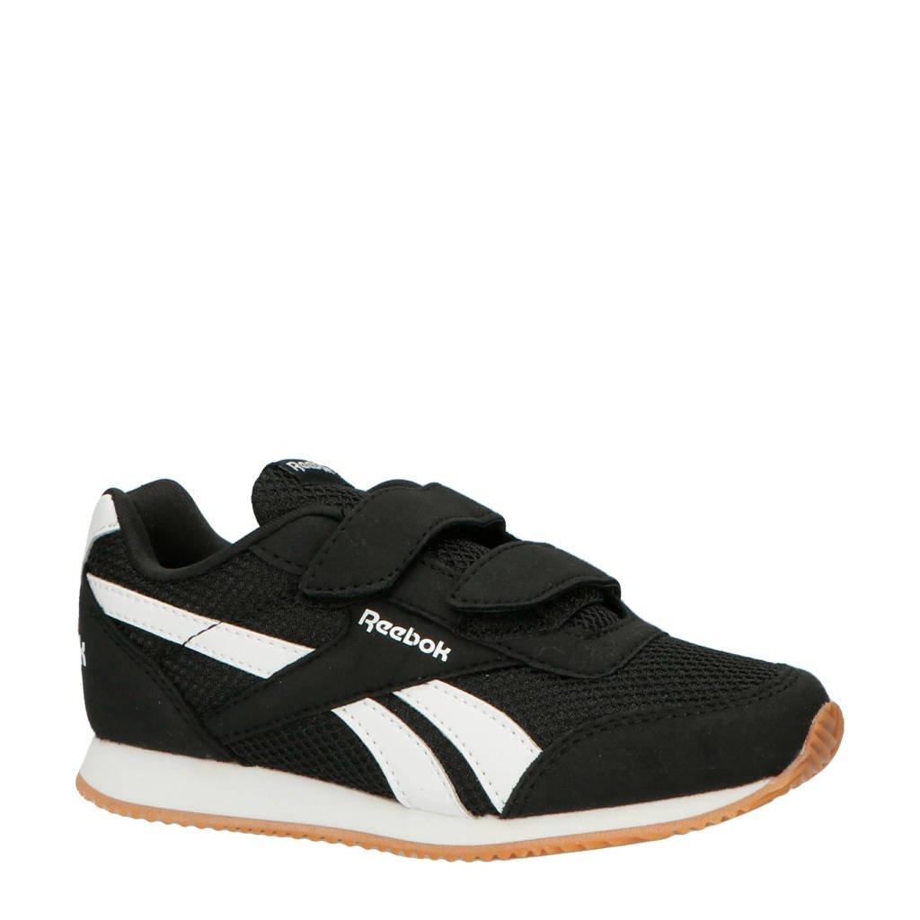 Reebok   Royal CLJog sneakers zwart/wit, Zwart/wit