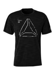Reebok   sport T-shirt zwart (heren)