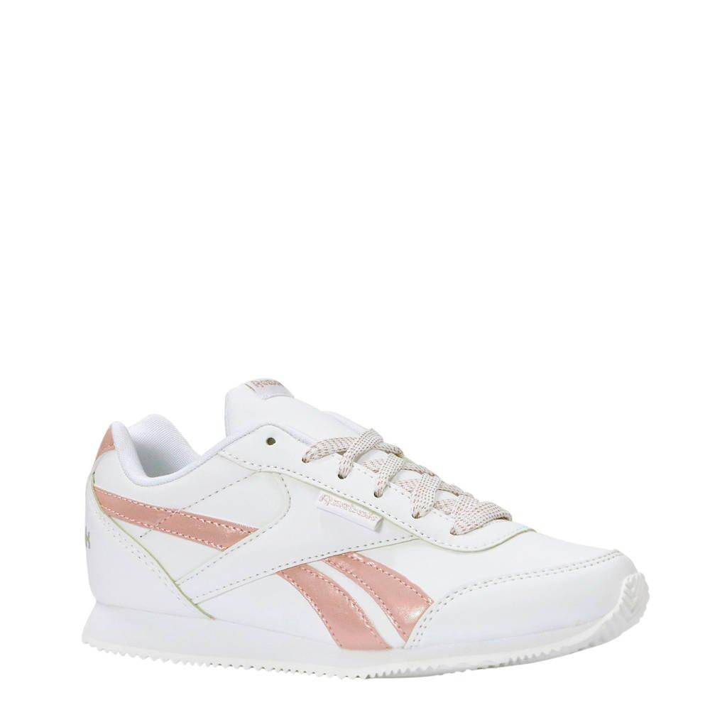 Reebok   Royal CLJOG 2 sneakers, Wit/roze