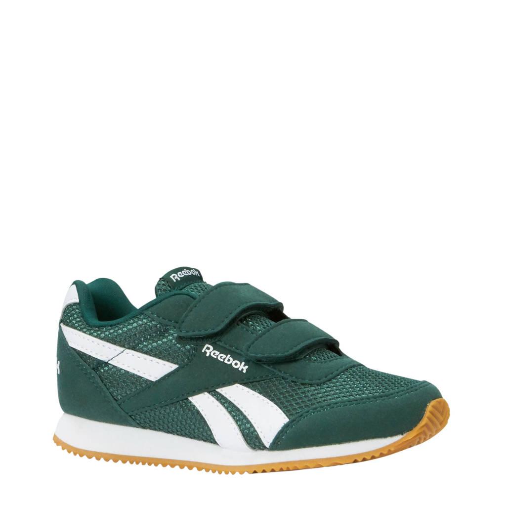 Reebok   Royal CLJog sneakers, Groen/wit