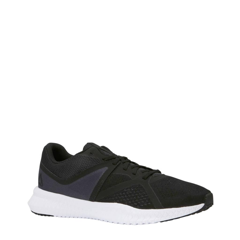 Reebok Flexagon Fit fitness schoenen, Zwart/grijs/wit