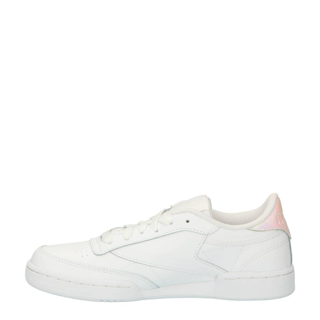 C Sneakers zilver Reebok Wit Club Metaillic OpxqRz8