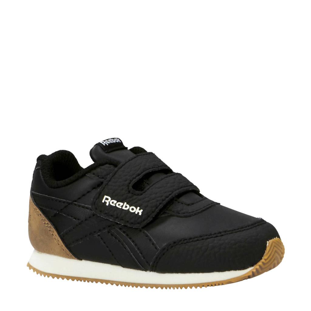 Reebok  Royal CLJog sneakers zwart/camel, Zwart/camel