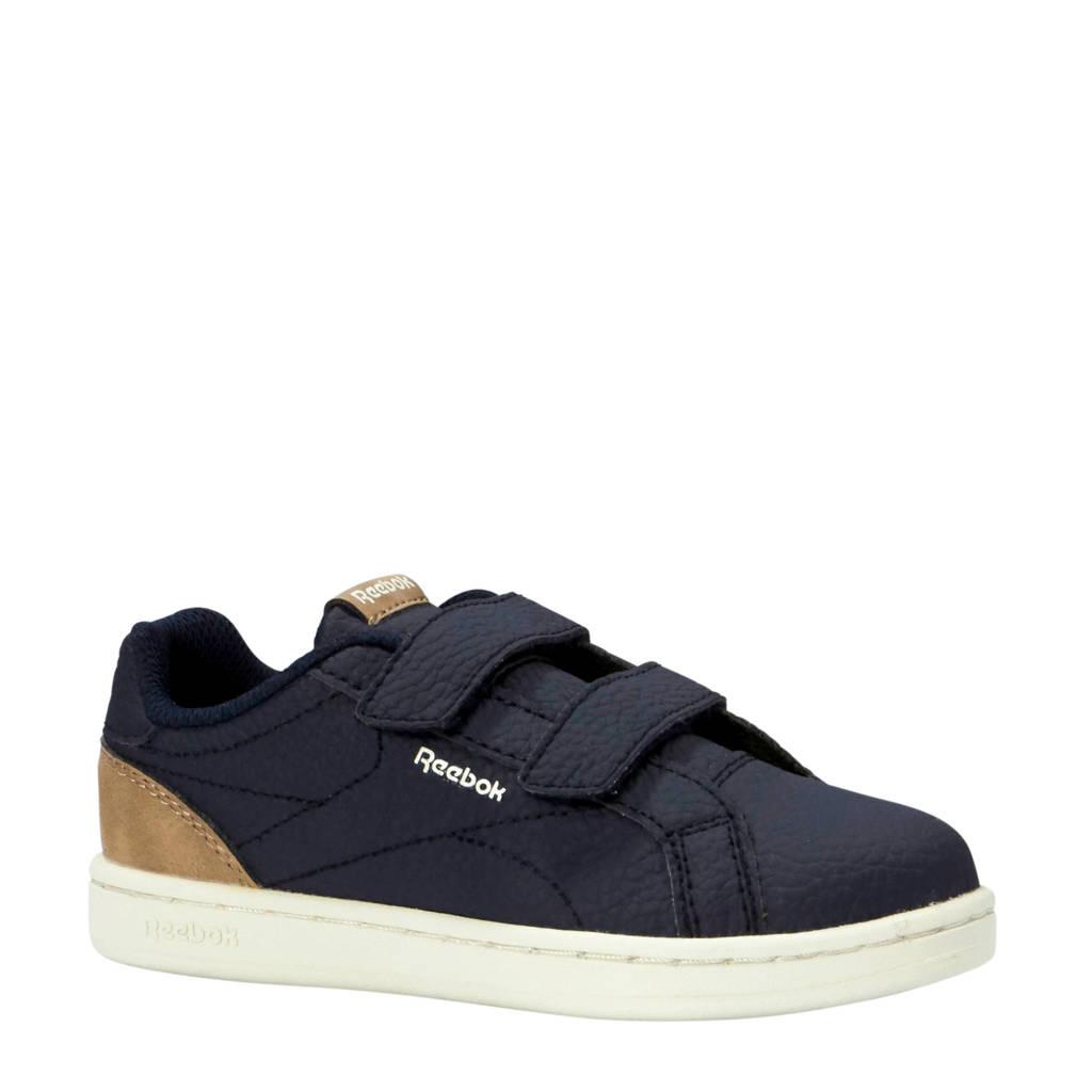 Reebok   Royal Comp CLN sneakers donkerblauw/camel, Donkerblauw/camel