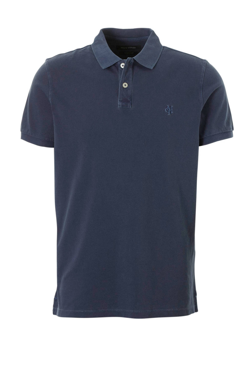 Marc O'Polo regular fit polo donkerblauw, Donkerblauw