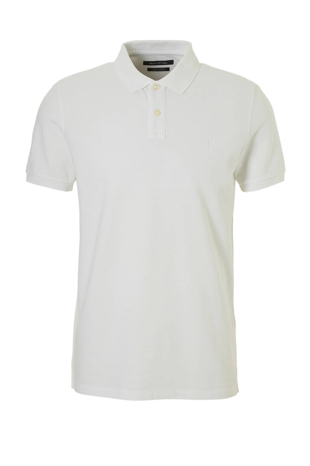 Marc O'Polo regular fit polo wit, Wit