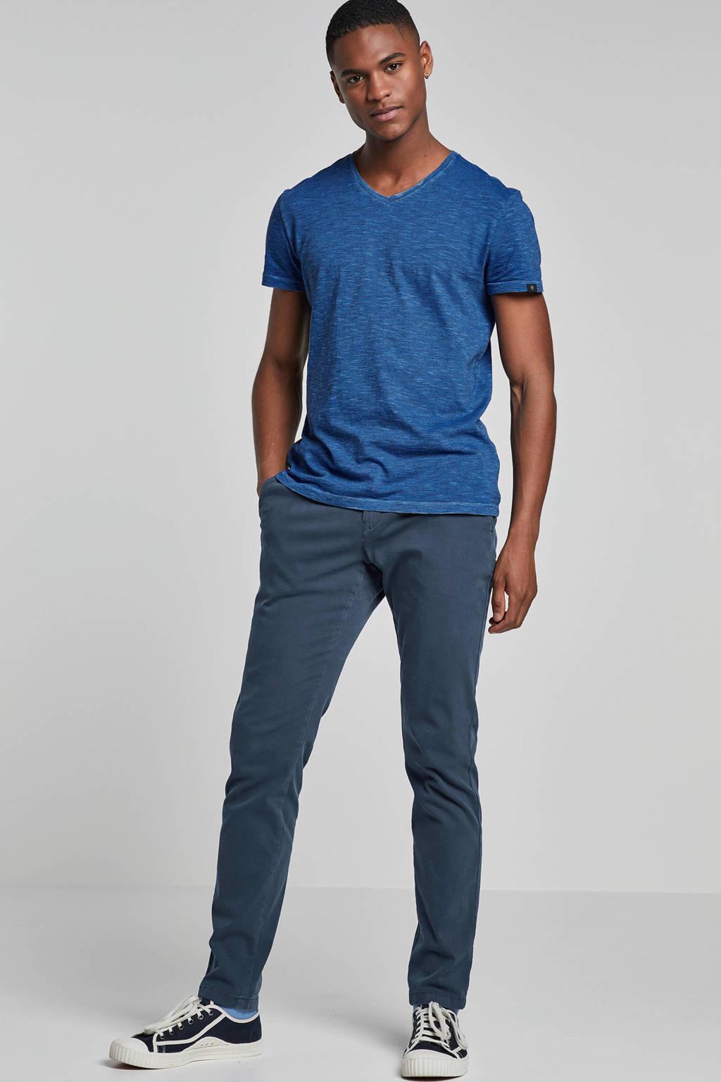 Marc O'Polo gestreept T-shirt blauw, Blauw/zwart