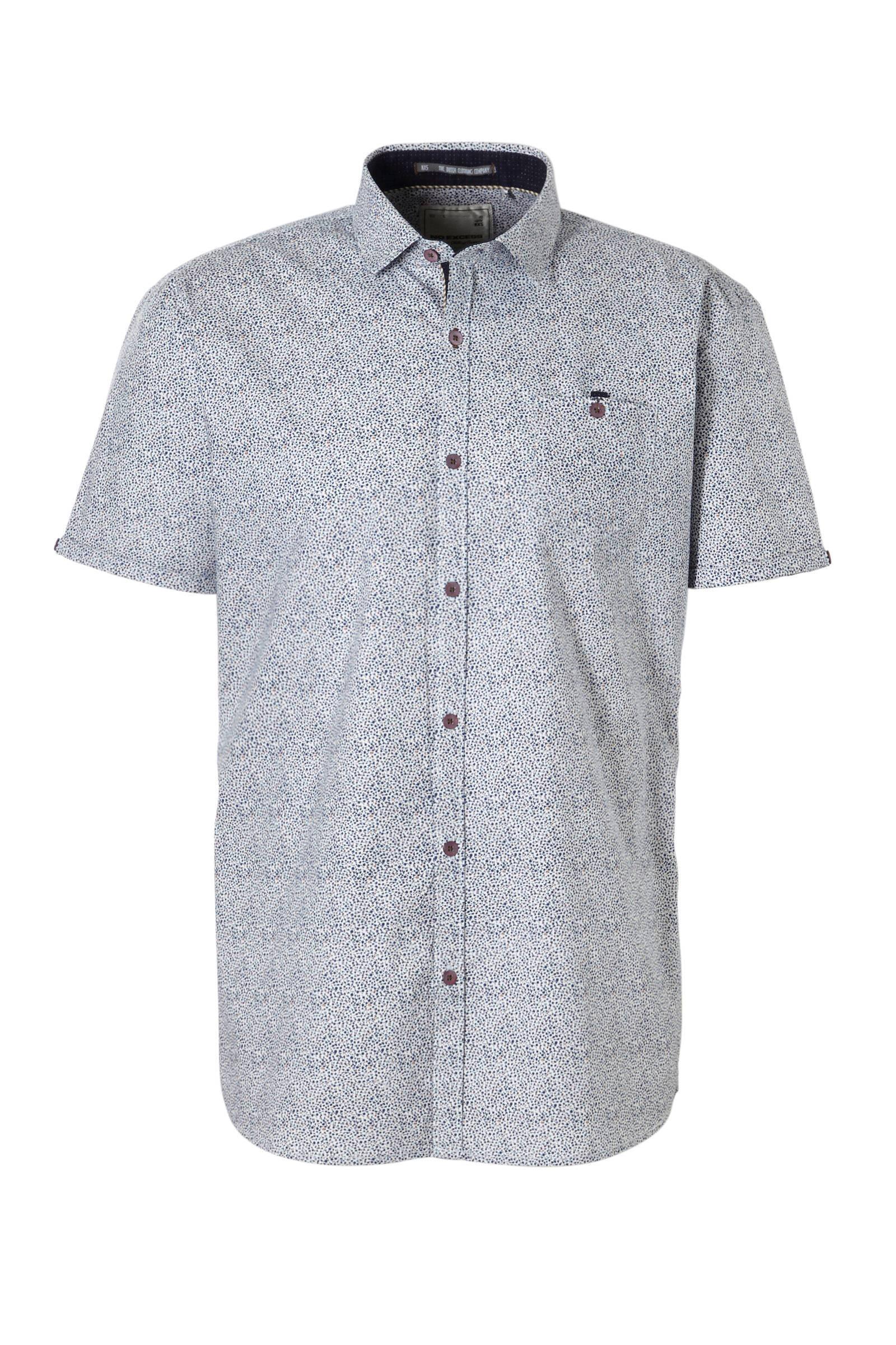 zwart overhemd button down