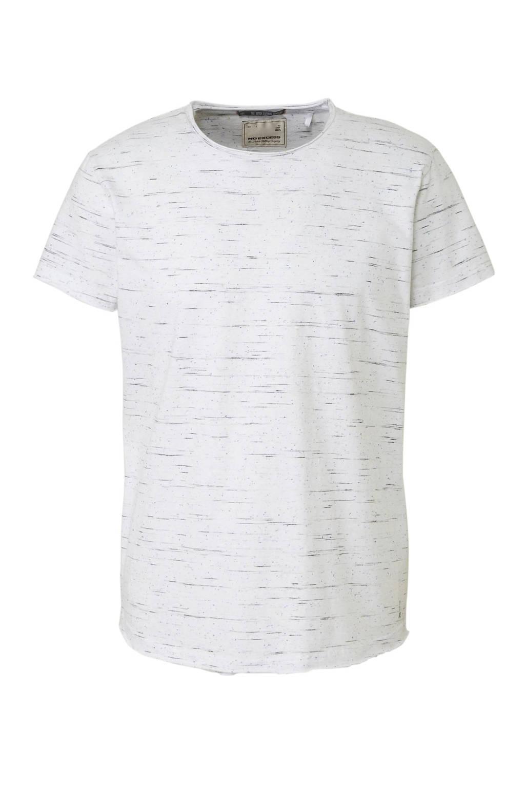 No Excess T-shirt, Wit melange