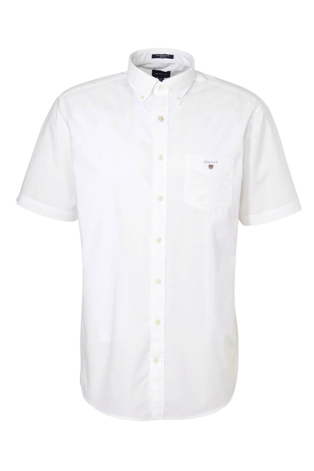GANT regular fit overhemd wit, Wit