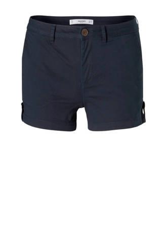 korte broek donkerblauw