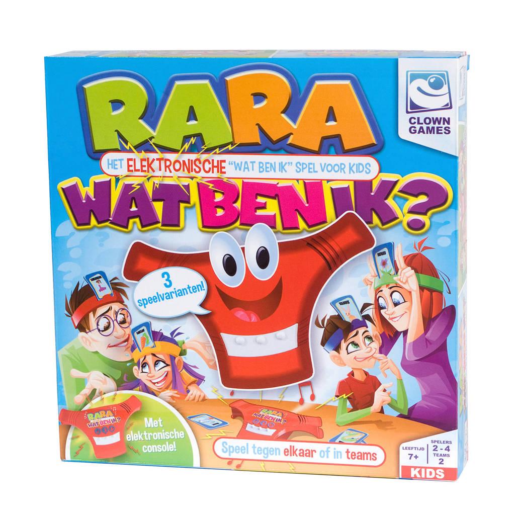Clown Games Rara wat ben ik? kinderspel