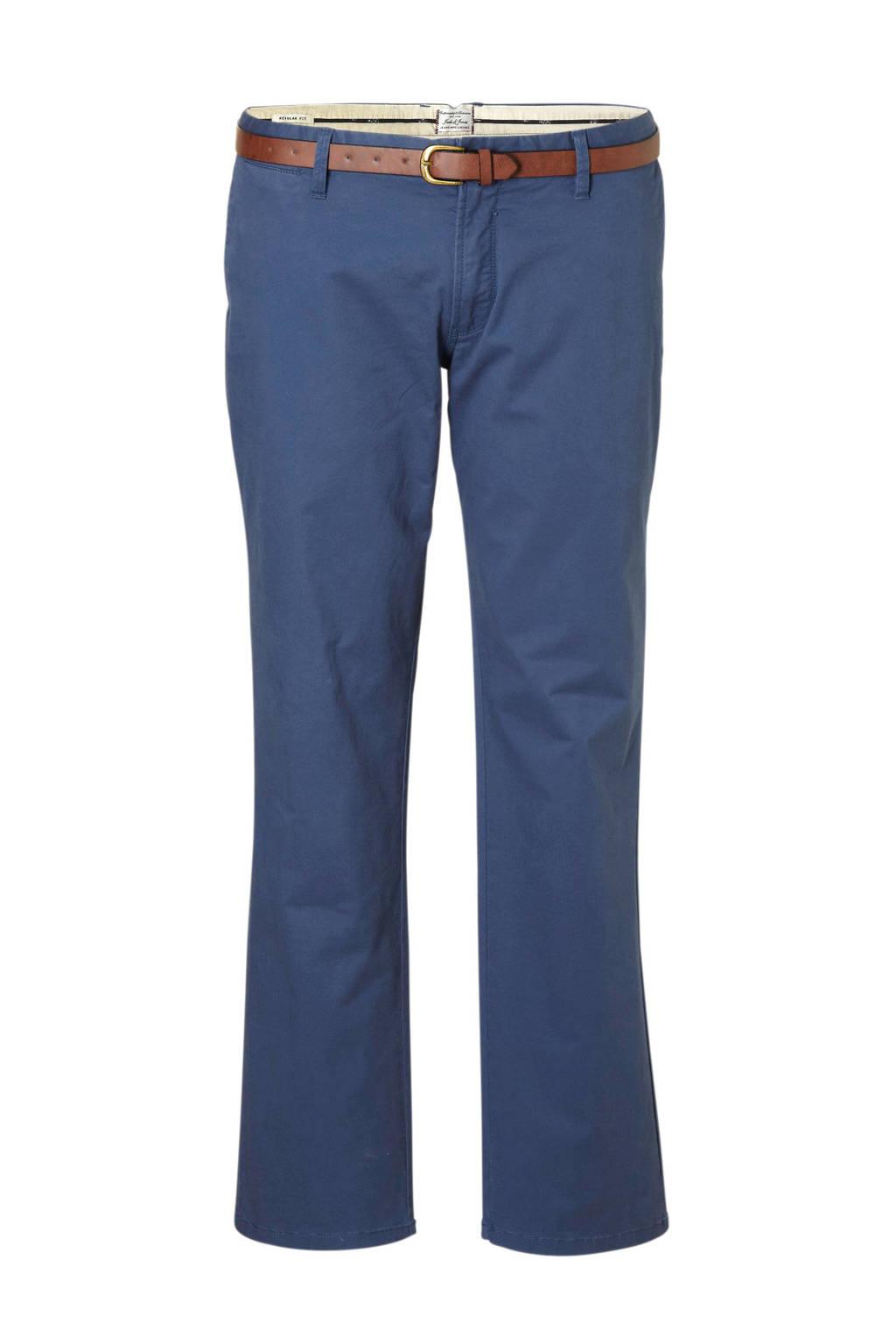 Jack & Jones Plus Size regular fit chino Cody blauw, Blauw