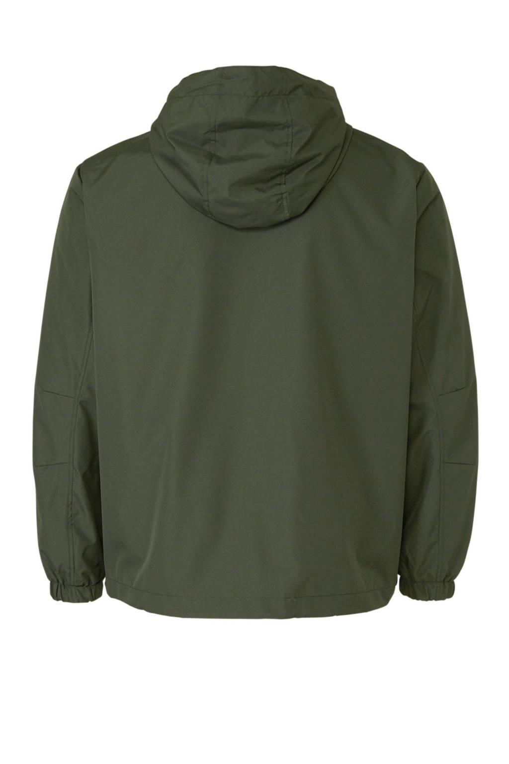 Jack & Jones Plus Size plussize jas, Donkergroen
