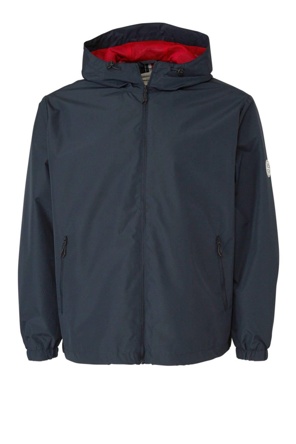 Jack & Jones Plus Size plussize jas, Donkerblauw