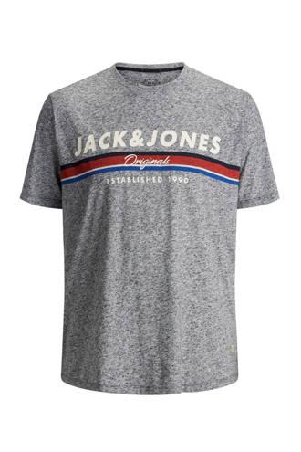 gemêleerd T-shirt Tuco grijs