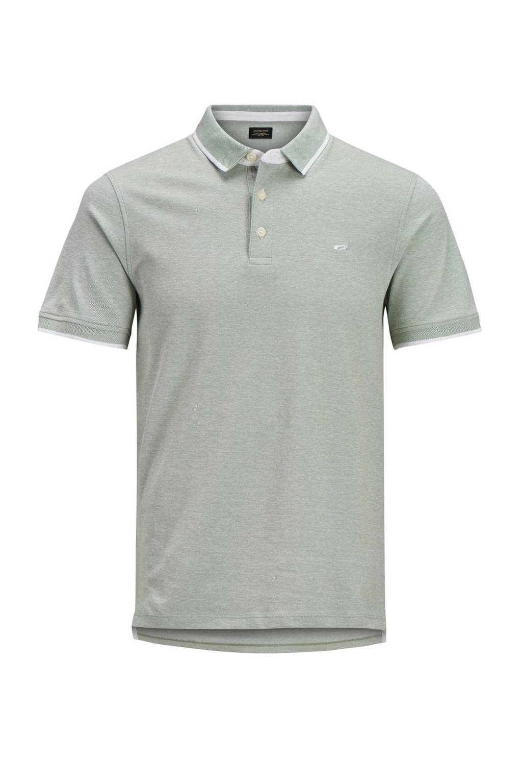 Jack & Jones Plus Size polo korte mouw, Grijs