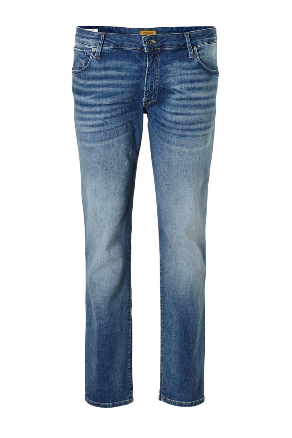 Jack & Jones Plus Size skinny fit jeans Liam, Dark denim