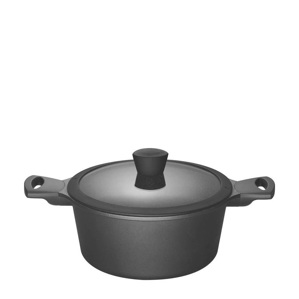 Sola Fair Cooking braadpan, 20 cm, Zwart