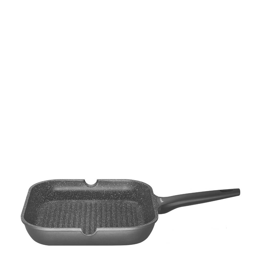 Sola Fair Cooking grillpan (Ø28 cm), Zwart