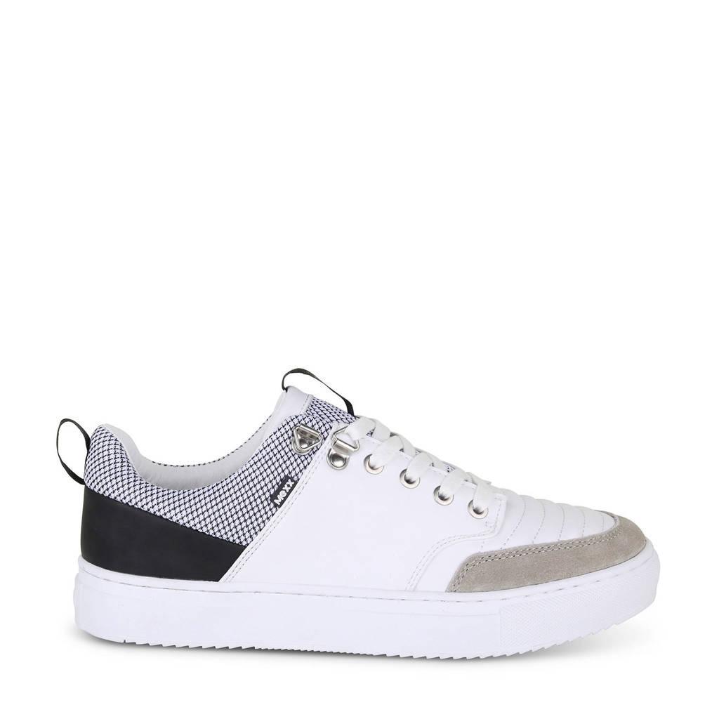Mexx  Bronson sneakers wit/grijs, Wit/grijs