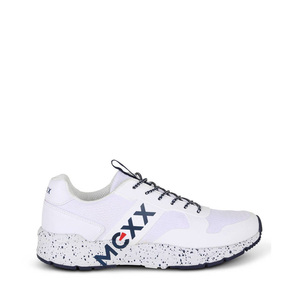 Mexx Cass MXQP0124 sneakers wit, Wit/blauw