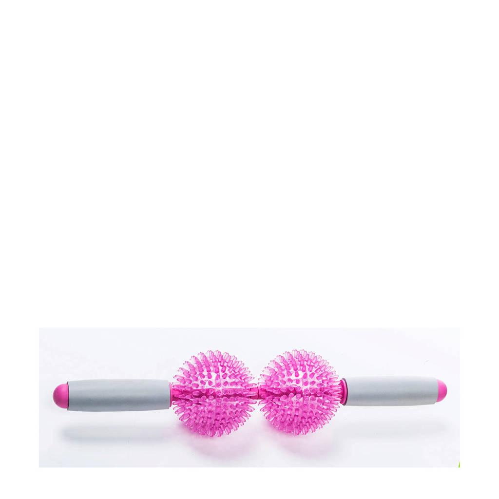 Gymstick Emotion Massage Roller, Roze/wit