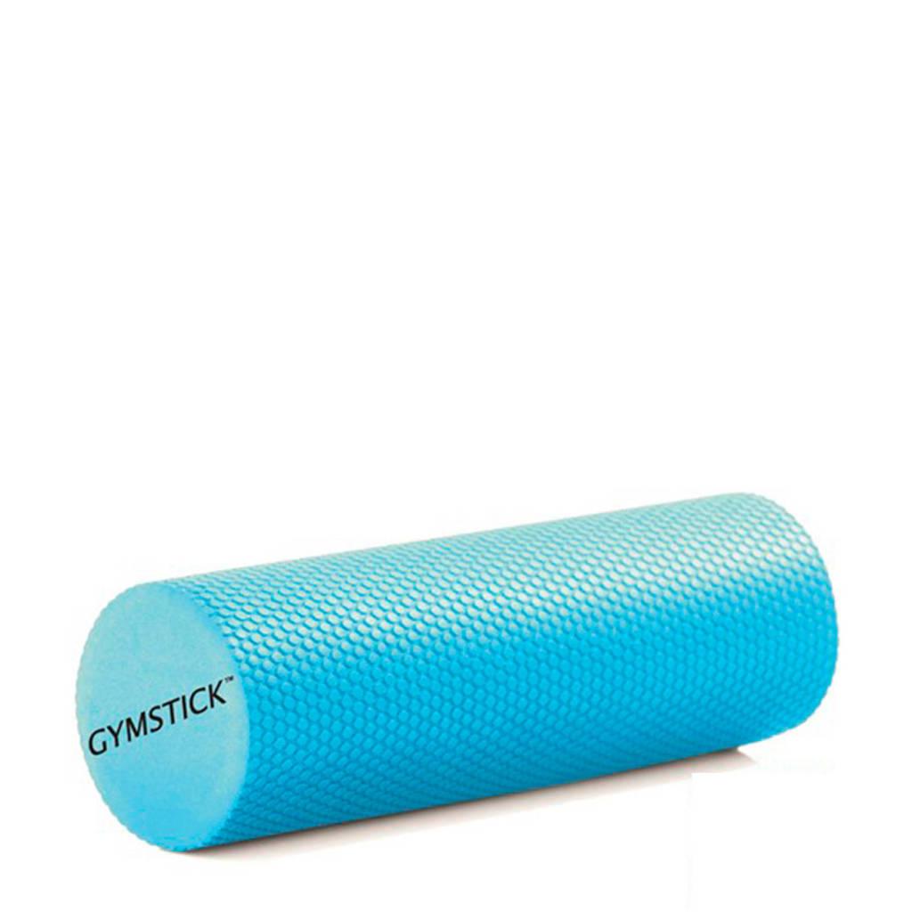 Gymstick Active Compact foam roller 30 cm - Met Trainingsvideo's, Blauw