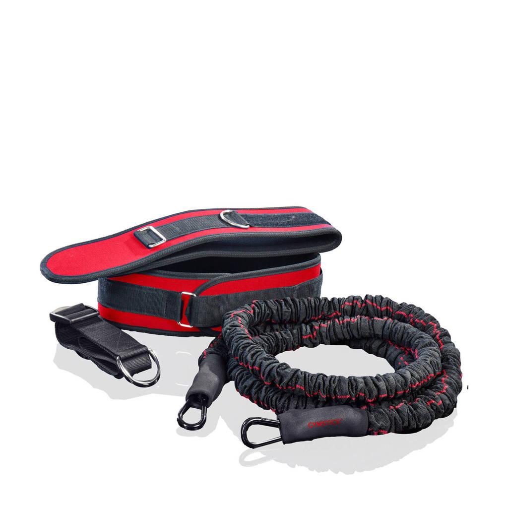 Gymstick Overspeed Trainer - Fitness elastiek, Rood/zwart