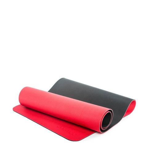 Gymstick Pro Yoga Mat - Met Online Trainingsvideos - Red/Black kopen