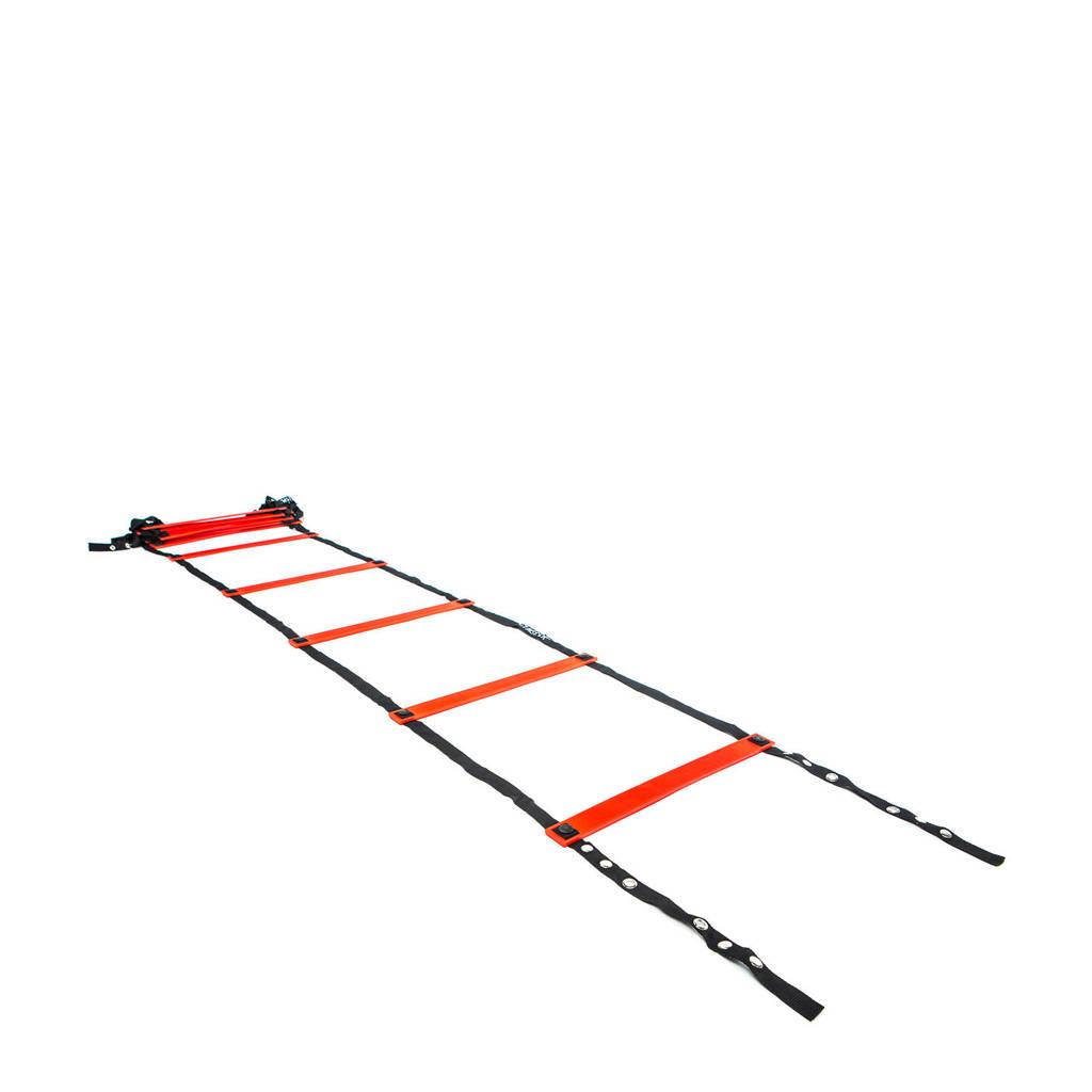 Gymstick Speed ladder Deluxe, Zwart/rood