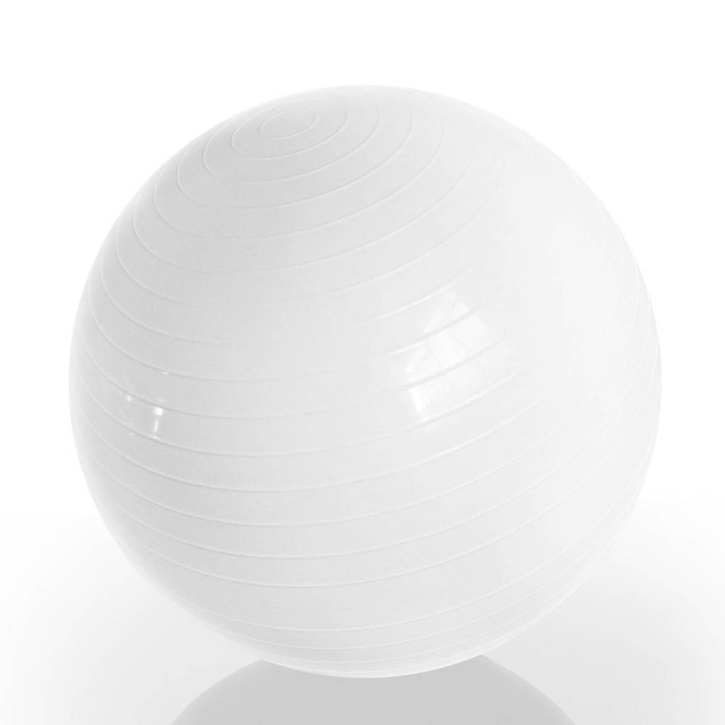 Gymstick  Emotion Body Ball - Met Trainingsvideo's - 75 cm, Wit
