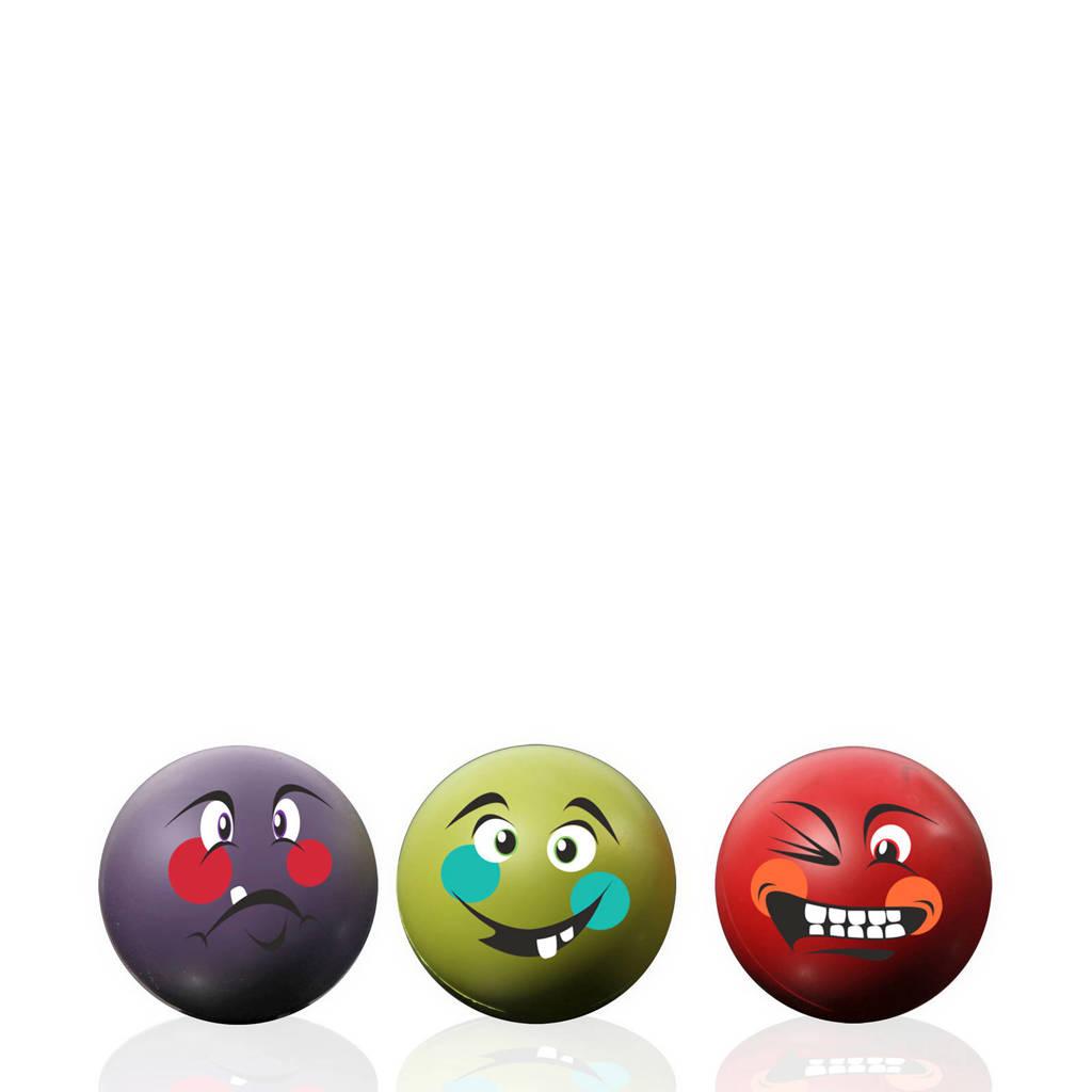 Gymstick   Anti-stress ballen (3 stuks), Paars/groen/rood