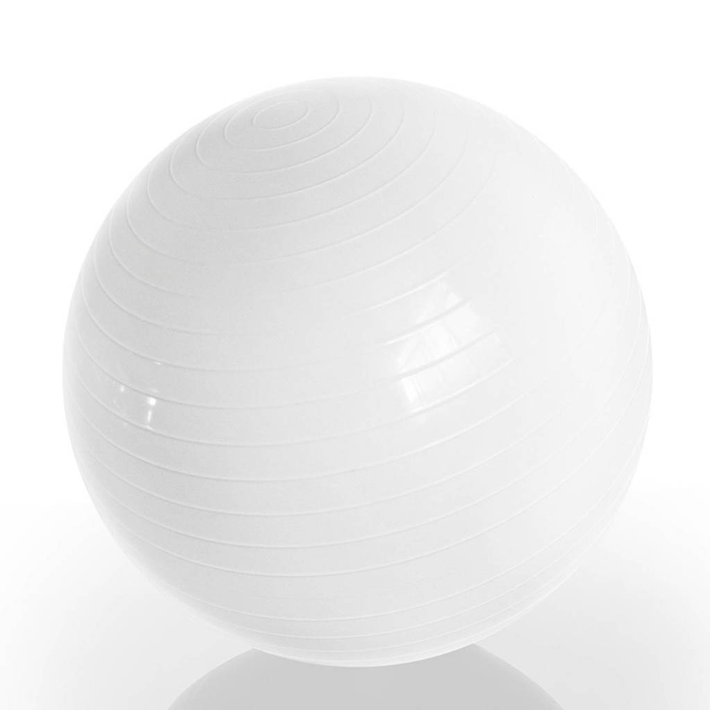 Gymstick  Emotion Body Ball - Met Trainingsvideo's - 65 cm, Wit