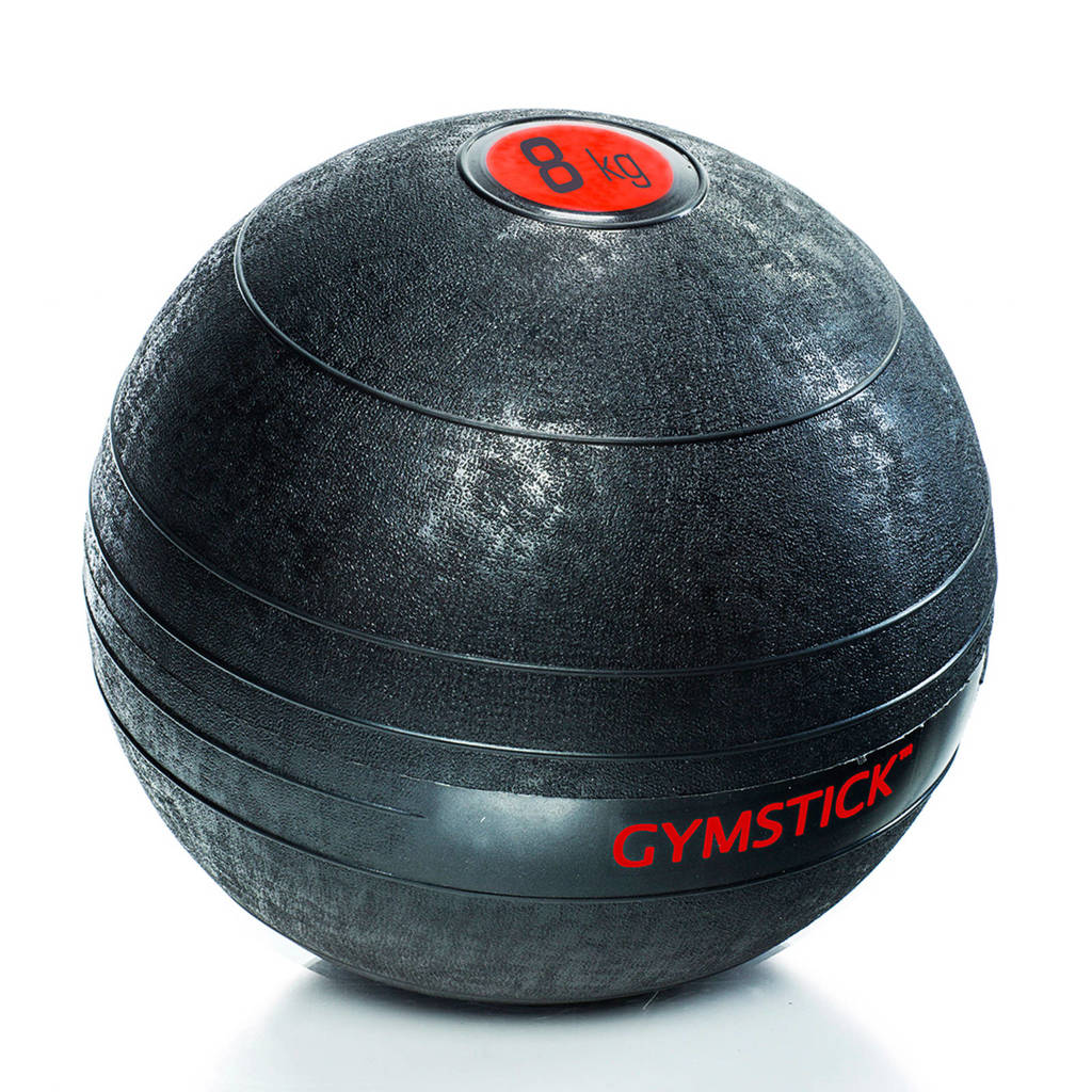 Gymstick Slam Ball - Met Trainingsvideo's - 8 kg