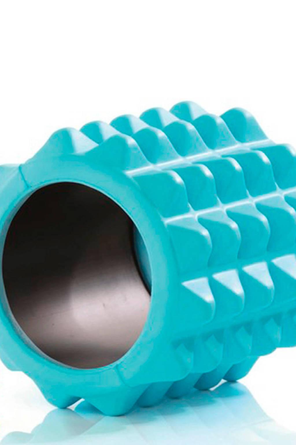 Gymstick Active Halve Foam Roller - 13 cm - Met Online Trainingsvideo's, Blauw