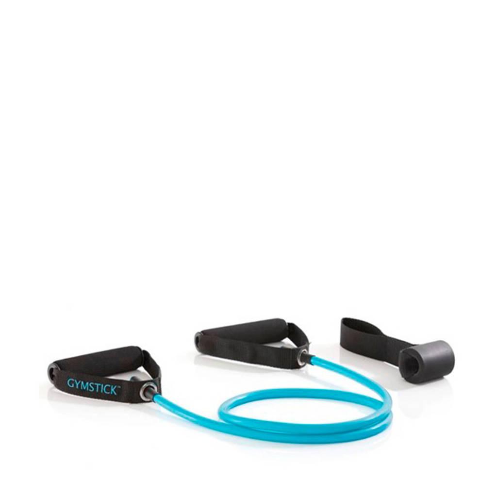 Gymstick Workout Tube - fitness elastiek met deuranker, Blauw