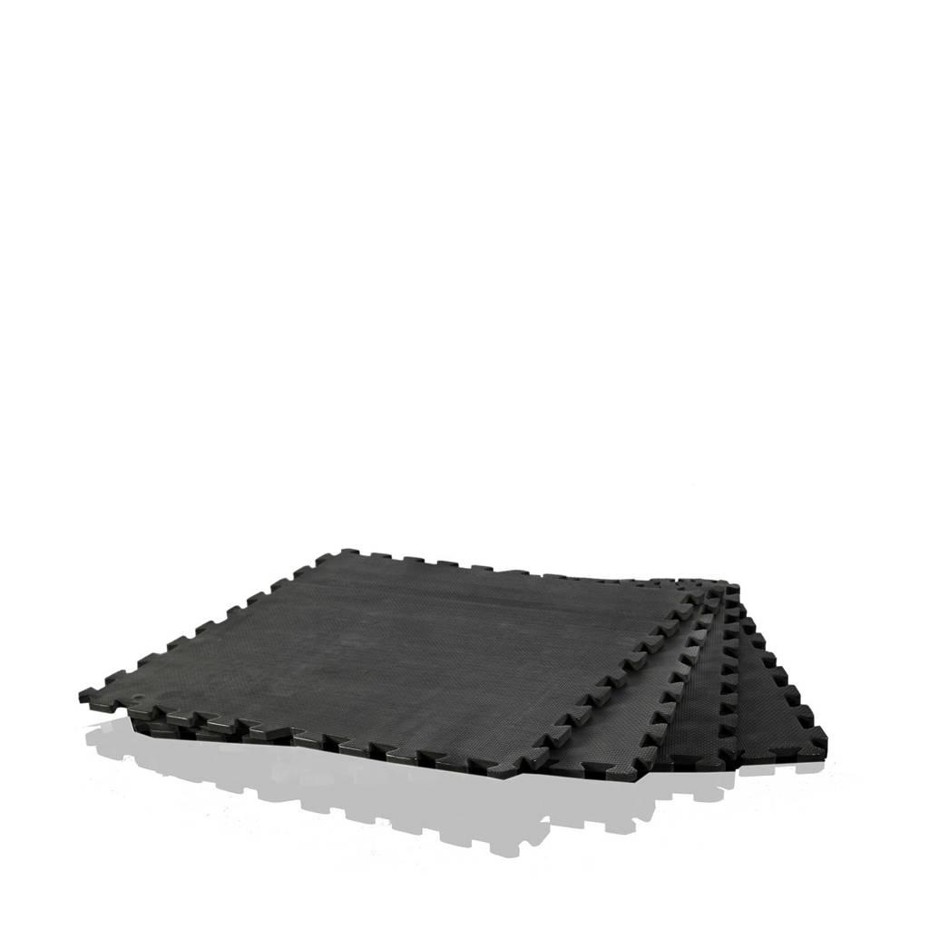 Gymstick  Puzzelmat 120 x 120 cm, Zwart