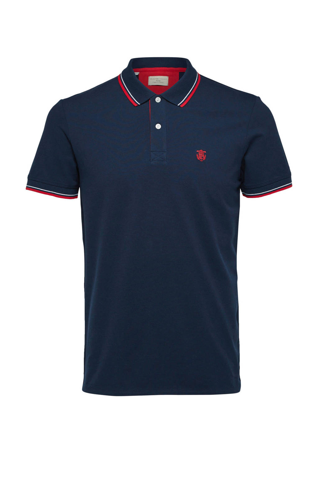 SELECTED HOMME regular fit polo, Marine