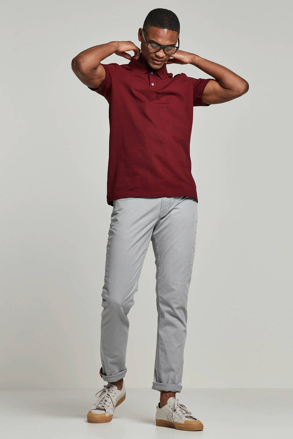 SELECTED HOMME polo, Rood