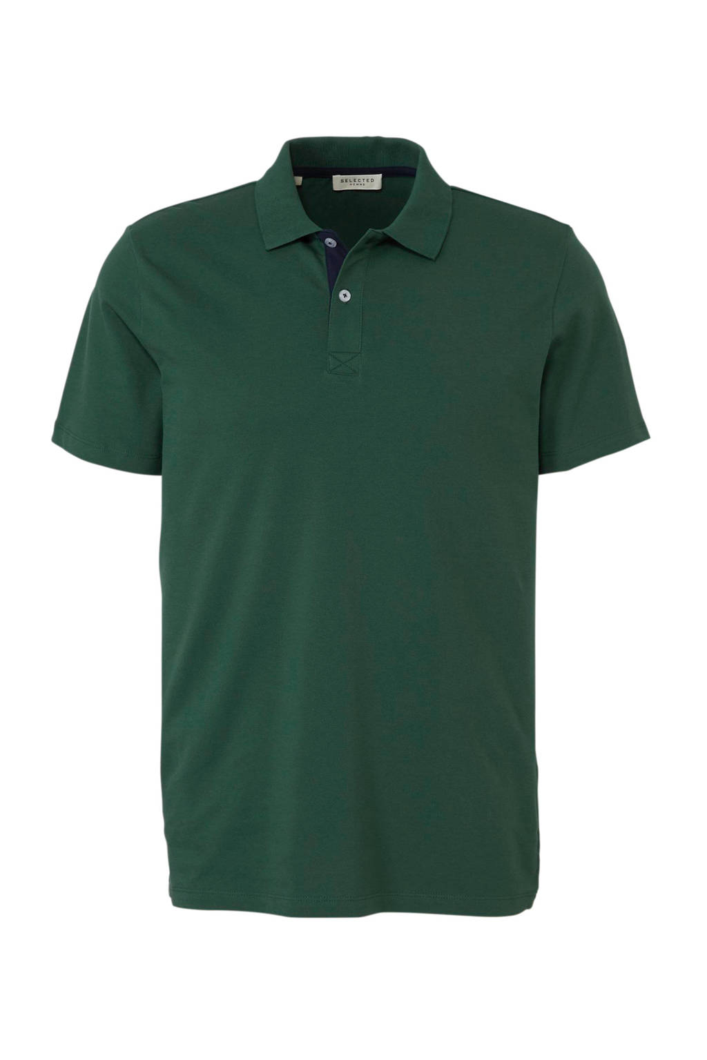 SELECTED HOMME polo, Groen