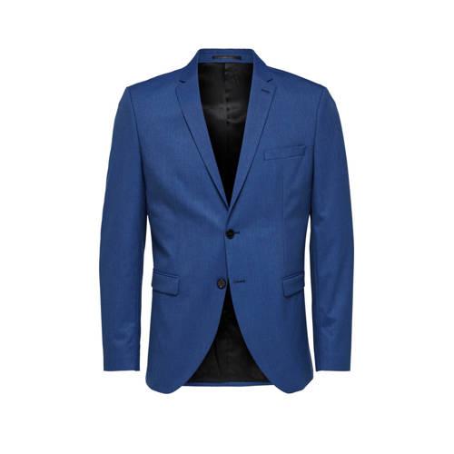 SELECTED HOMME slim fit colbert blauw