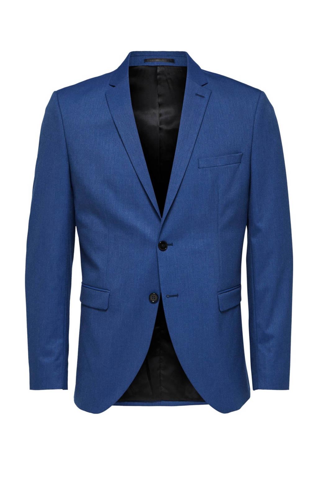 SELECTED HOMME slim fit colbert blauw, Blauw
