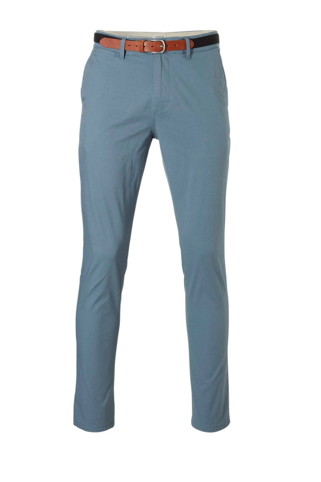 SELECTED HOMME slim fit chino, Blauw