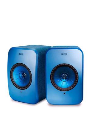 KEF LSX BLAUW luidspreker LSX