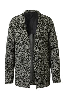 C&A YSS Shop sweatblazer met panterprint (dames)